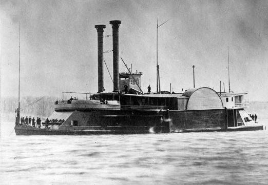 The tinclad USS Peosta