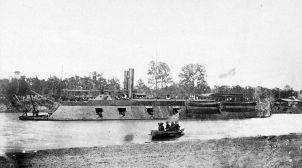 The city-class ironclad USS Pittsburgh