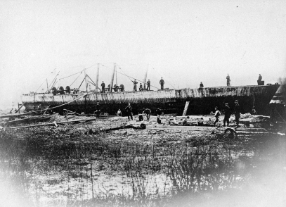 Wreck of the USS Indianola
