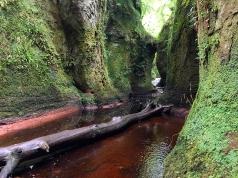Falls in Finnich's Glen