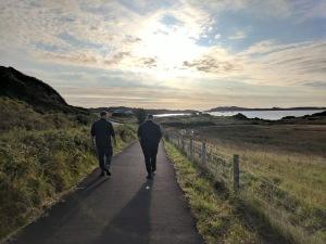 Walking towards Laphroaig