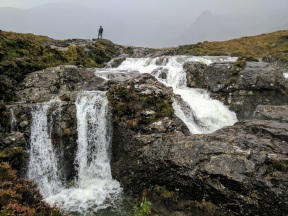 Falls at the Fairy Pools