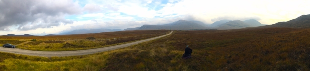 The expanse of the Highlands is difficult to capture on cameras.