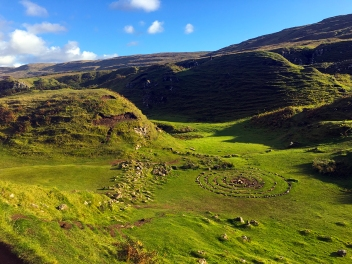 The Fairy Glen looking East