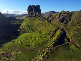The Fairy Glen looking West