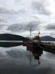The Vital Spark moored at Inveraray