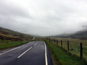 Towards the Highlands