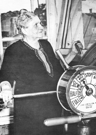 Captain Mary Greene was captain of Greene Line steamboats, and the only female steamboat captain in Ohio