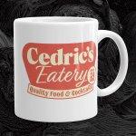 Cedric's Eatery 11oz. Mug