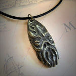 Cthulhu Idol Necklace (Brass)