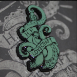 H.P. Lovecraft Cthulhu Hard Enamel Pin