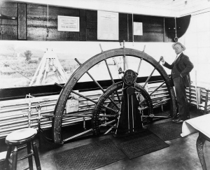 Pilothouse of the Str. Horatio Wright
