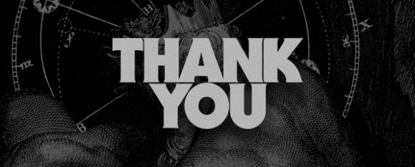 A Quick Thank You