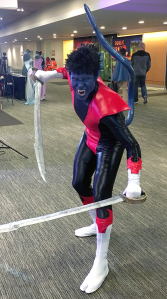 I had to get a picture of, Android Cosplay's amazing take on classic Nightcrawler