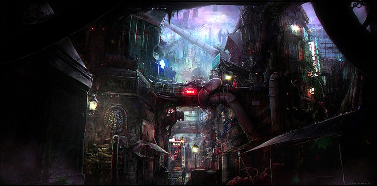 Sebastien Ecosse, Blacklight early concept design