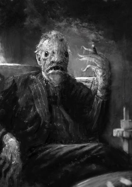 """Sebastien Ecosse, """"Sur les Traces de Lovecraft"""" Deep one Hybrid"""