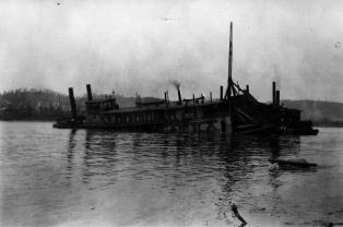 Str. Atha's sunken remains, 1918
