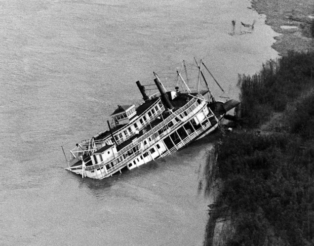 Str. Golden Eagle sinks in 1947