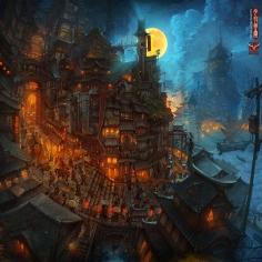 Zhichao Cai - Izumochi - Moonlight Panorama