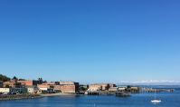Arrival in Port Townsend