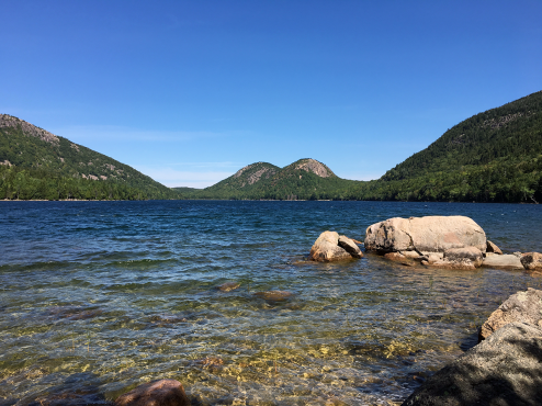The Bubbles from the end of Jordan Pond