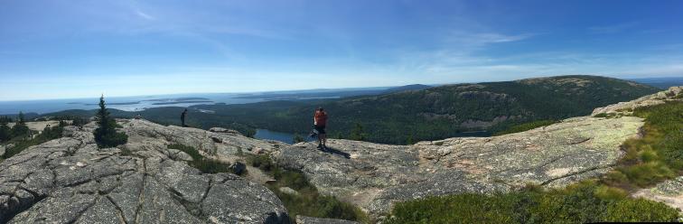 Atop Pemetic Mountain