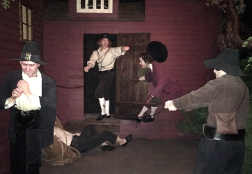 The Witch History Museum had slightly better mannequins and a few moved