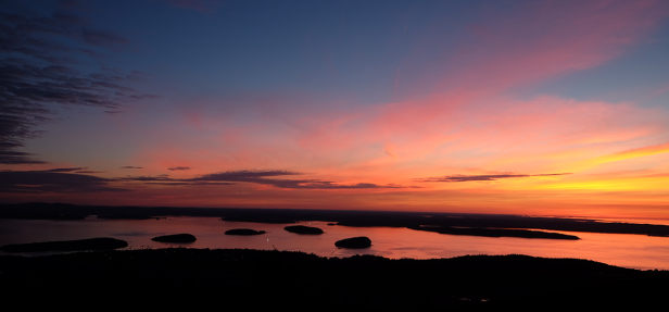 Sunrise from Cadillac Mountain (Photo by Kari-Lise)