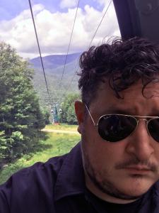 I'm on a gondola!