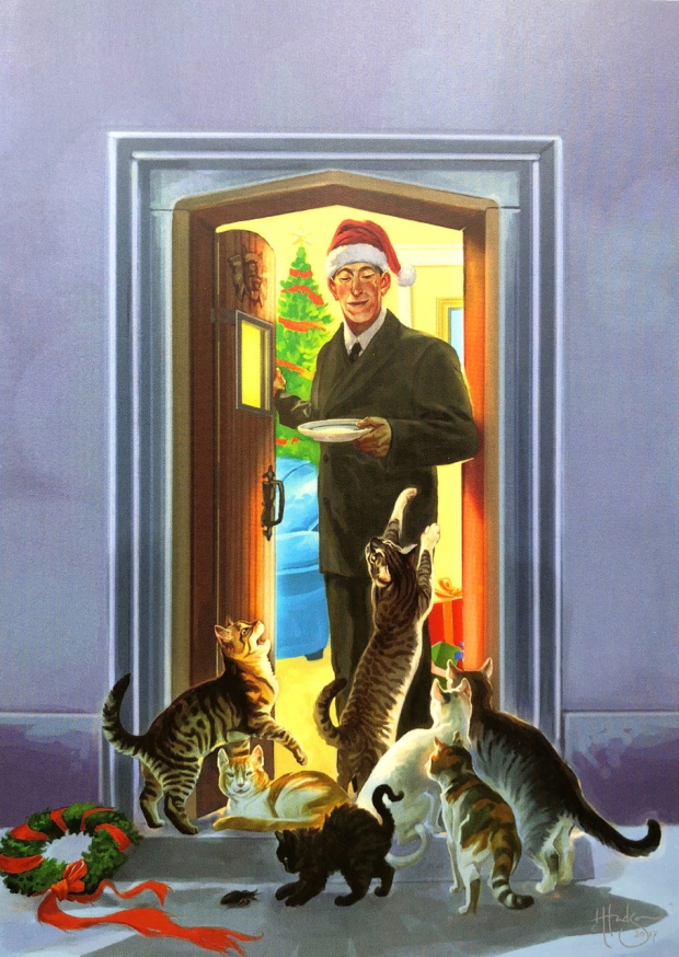 An image taken from Heather Hudson's Dreamlands Christmas Cards (Set 2)