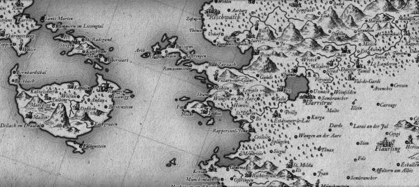 Walser: A Free 18th Century Cartography Brush Set for Fantasy Maps on