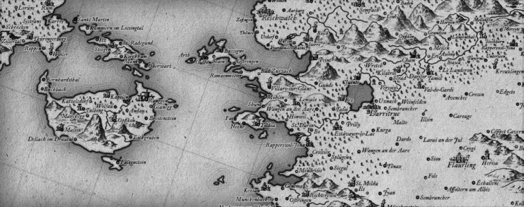 Walser: A Free 18th Century Cartography Brush Set for Fantasy Maps