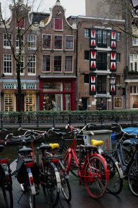 Streets, canals, and bikes