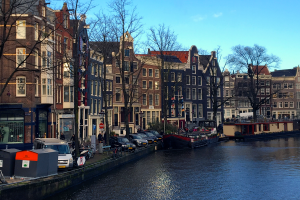 Canals and blue skies