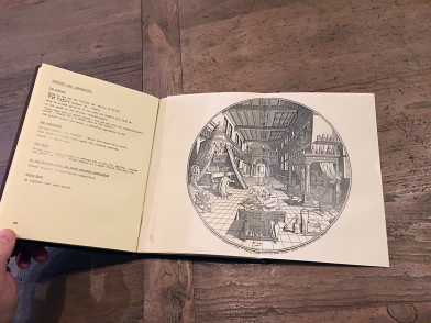 Paging through the rare old esoteric tomes in the Ritman Library