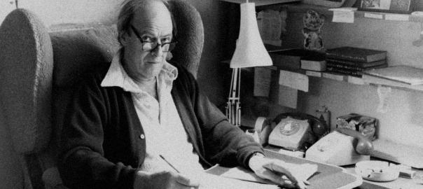"""A Video Tour Inside Roald Dahl's Writing """"Hut"""""""