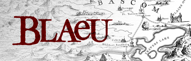 Blaeu: A Free 17th Century Cartography Brush Set for Fantasy Maps