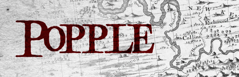 Popple: A Free 18th Century Cartography Brush Set for Fantasy Maps
