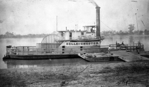 Outside of military uses many centerwheelers served as ferries
