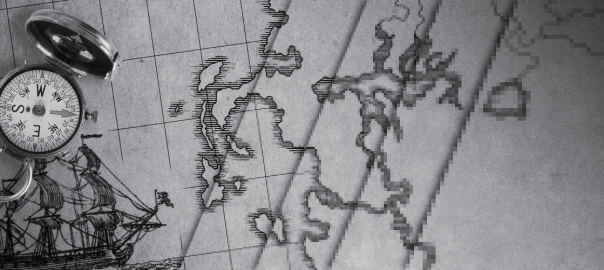 Making 18th Century Coastlines for Fantasy Maps