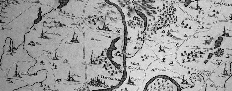 Harrewyn: A Free 18th Century Cartography Brush Set for Fantasy Maps