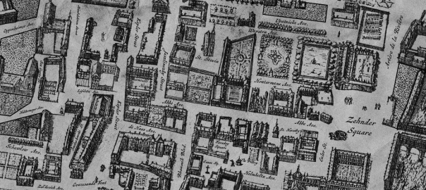 Gomboust: A Free 17th Century Urban Cartography Brush Set for Fantasy City Maps