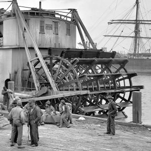 Paddlewheel of the Nettie Quill
