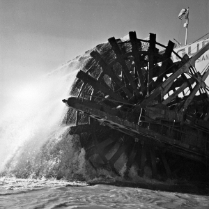 The paddlewheel of the Sprague