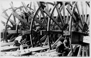 Rebuilding the sternwheel