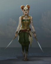 "Sam Hogg - The Whaler Girl - ""Eidy, Dark Marchant Design"""