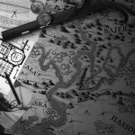 Van der Aa Sample Map - Decorated