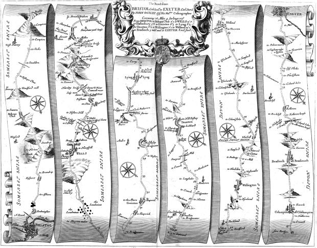 The Road from Bristol to Exeter, 1675