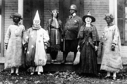 Halloween Revelers