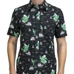 Cthulhu Short Sleeve Button-up Shirt